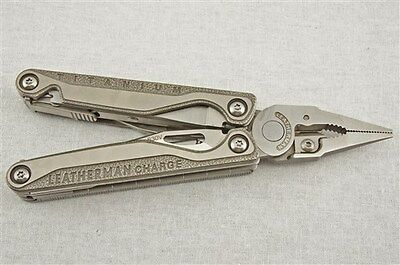 "Leatherman Charge TTi Multi-Tool, ""ReCharged"" with Upgraded Pliers and Functions"