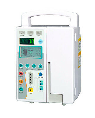 New Medical Infusion Pump IV & Fluid Equipment With Audible and visual Alarm CE