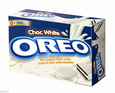 Oreo Chocolate Cookies Covered Original Double Mini White Thin-Multi Variations