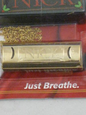 """Hohner NHBL """"Nick Harp"""" Golden Puck Harmonica in C a Great Little Harp any time"""