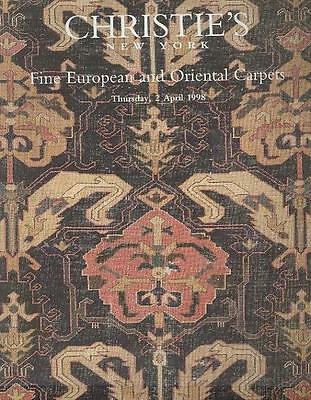 Christie's Sale 8858 European & Oriental Carpets Auction Catalog 1998