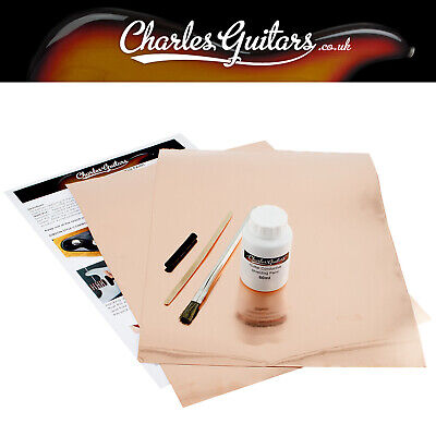 Guitar Shield Shielding Paint ***60Ml Kit + 2 Copper Foil*** (Ch50008)