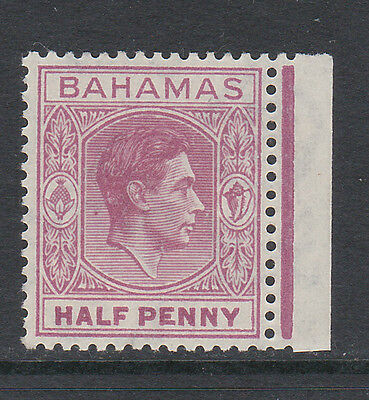 BAHAMAS 1938-52 ½d WITH ELONGATED 'E' SG 149ec MINT.