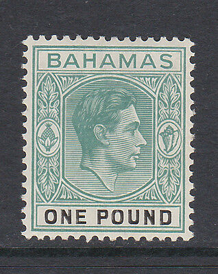 Bahamas 1938-52 £1 Deep Grey-Green & Black Sg 157 Mint.