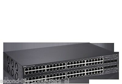 Dell Powerconnect 5448 48x10//100//1000 4 SFP Layer 2 Managed Switch H936F