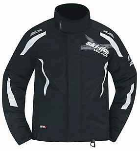 Ski-Doo New OEM Mens X-Team Snowmobile Jacket Black Medium, M 4405820690