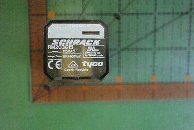 TYCO / SCHRACK RELAY DPDT 16A 115VAC RM203615 / 2-1393146-6 RoHS NON-LATCHING 1