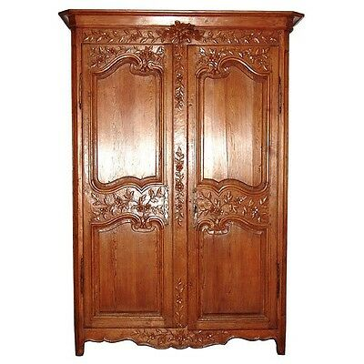 French Armoire, Antique #6333