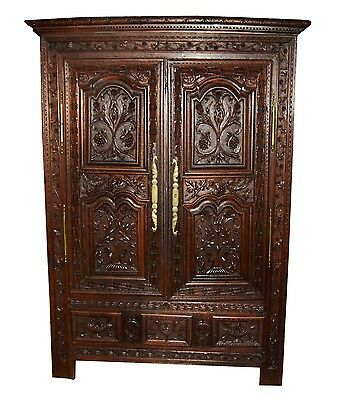 French Antique Wardrobe #7428