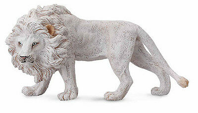 FREE SHIPPING | CollectA 88548 White Lion Animal Toy Replica - New in Package