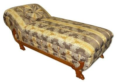 Vintage Fainting Couch/Recamier, American #2289