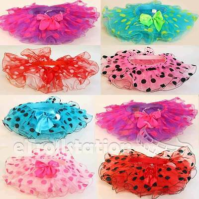 Lovely Girls Children Infant & Toddler - Polka Dot TUTU Skirt Dance Fancy Dress