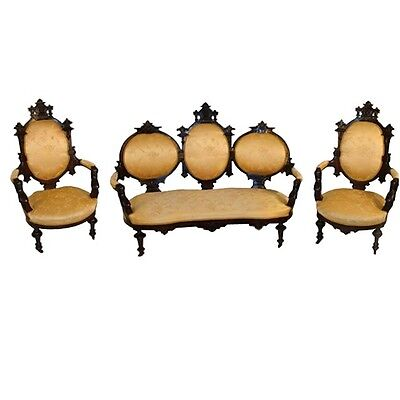 Victorian Parlor Set by John Jelliff 1800-1899 #7274