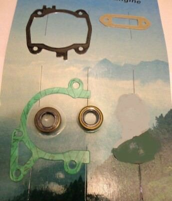 Stihl TS410 & TS420 complete engine gasket set with oil seals