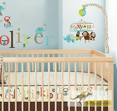 Brand New Alphabet Zoo Baby Cot Musical Mobile 3 Designs