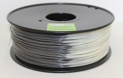 3D Printer Magic Heat Colour Change Filament - Grey to White -  ABS & PLA