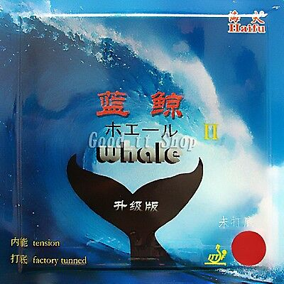 HaiFu Whale II National Version Pips-In Table Tennis Rubber with sponge