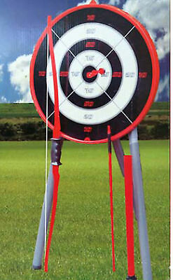 Gardern Archery Set Large Target Rubber Indoor Outdoor Family Fun Giant Game