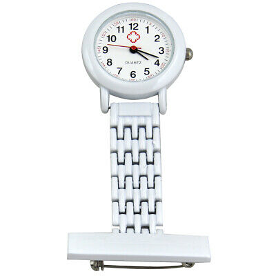 TRIXES Nurse Stainless Steel Quartz White Fob Watch