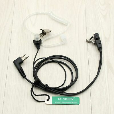Headset Earpiece  EAR PIECE MIC MOTOROLA 2-Pin CLS1110 CP100 CLS1410 CP200 Radio