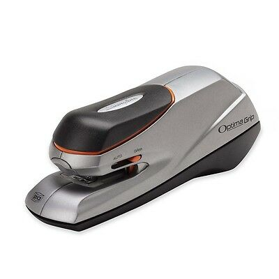 Swingline 48207 Optima Grip Electric Stapler 20 Sheet Capacity Dual Power Silver