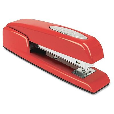 Swingline 74736 Business Stapler, 20 Sheet Capactiy, Full Strip, All Metal, Red