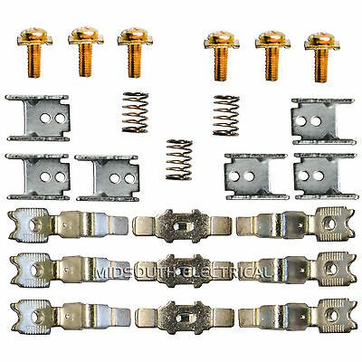 6-65-8 Cutler Hammer Size 2 & J, 3 Pole Freedom Replacement Contact Kit-Ses