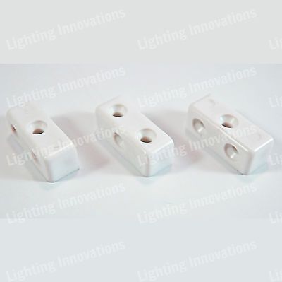 White Modesty Mod Block Kitchen Cabinet Cupboard Fixing Joint Connector Blocks