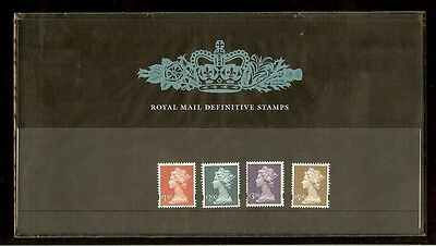 GB - 2002 High Values Definitive Stamps Presentation Pack 43a