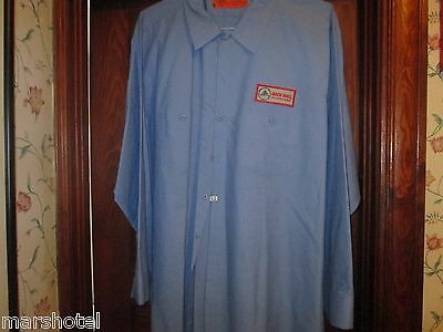 Rock & Roll Hall Of Fame Museum Cleveland Dickies Work Shirt Adult Xxxl (3X)