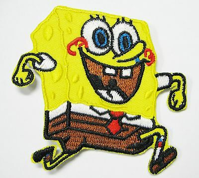 Lot Of1) Cartoon Char. Sponge Bob Square Pants Embroidered Patch (B) Item # 132