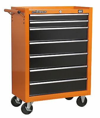 DJM American Pro 7 Drawer Roll Cab Roller Cabinet Bottom Metal Steel Tool Box