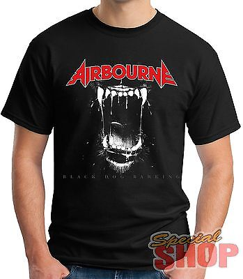 "Camiseta ""airbourne-Black Dog Barking"" T-Shirt-Modelo Chico-Chica-Niño"