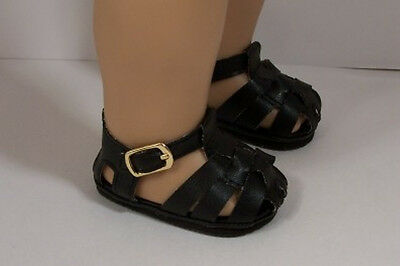"""BLUE EZ2 Close-Buckle Strap Sandals Doll Shoes For 18/"""" American Girl Debs"""