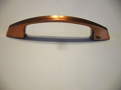 Vintage Satin COPPER Drawer Cabinet Door Pull Handle Deco Style Amerock
