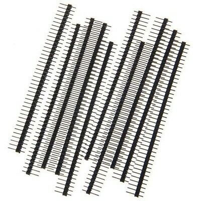 20PCS 40Pin 2.54mm Single Row Straight Male Pin Header Strip 1*40P for Ardunio