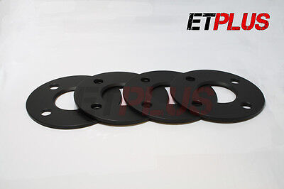 4 x 5mm Hubcentric Alloy wheel spacers fits Hyundai atos accent getz 54.1 4x100