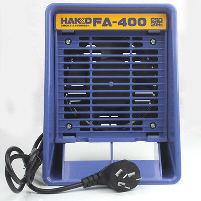 220V FA400 Portable Solder Smoke Absorber Air Filter Fume Extractor