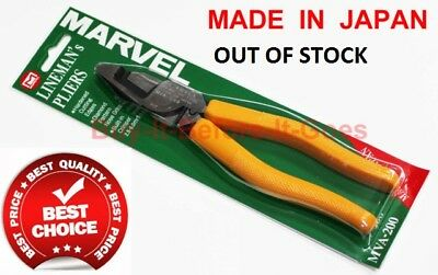 Electricians Marvel Mva200 Insulated Linesman Combination Pliers For Cable Tools
