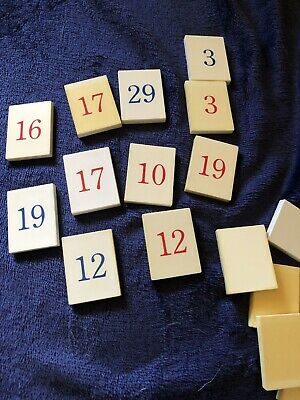 Pillsbury Doughboy Calendar Days Of Month Replacement Numbers & Tiles For You