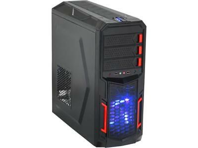 Rosewill - Black Gaming ATX Mid Tower Computer Case - Top-Mounted USB 3.0 Port,