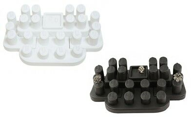 Leatherette Ring Display Set - Colour Choice (Bd106)