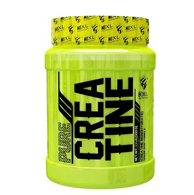 PURE CREATINE 500 gr 3XL NUTRITION Creatina Monohidrato 100% Premium.