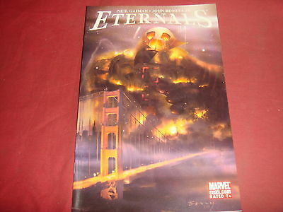 THE ETERNALS #4 Neil Gaiman John Romita Jr Marvel Comics 2006 NM