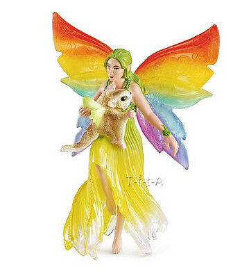 FREE SHIPPING | Schleich 70480 Meena Rainbow Fairy Figurine Toy- New in Package