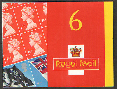 PM4 / SB3(4) 2001 Flags & Ensigns 6 x 1st Class Self Adhesive Booklet