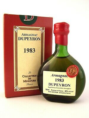 1983 Ryst-Dupeyron Armagnac 50ml France Isle of Wine