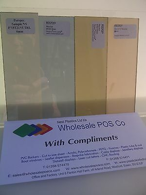 Cast Tinted Perspex Acrylic Sheets For Boat Windows And Hatches 3Mm To 15Mm