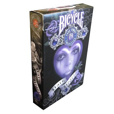 Bicycle Anne Stokes II Fantasy Art Playing Cards Deck version 2 v2 dark hearts
