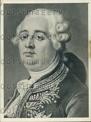 1931 Artist's Drawing of King Louis XVI of France Press Photo